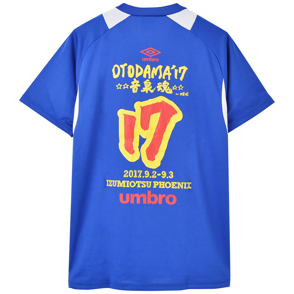 OTODAMA 音泉魂 - 2017 ドライTシャツ / バックプリントあり / umbro(ブランド) / Tシャツ / メンズ 【公式 / オフィシャル】