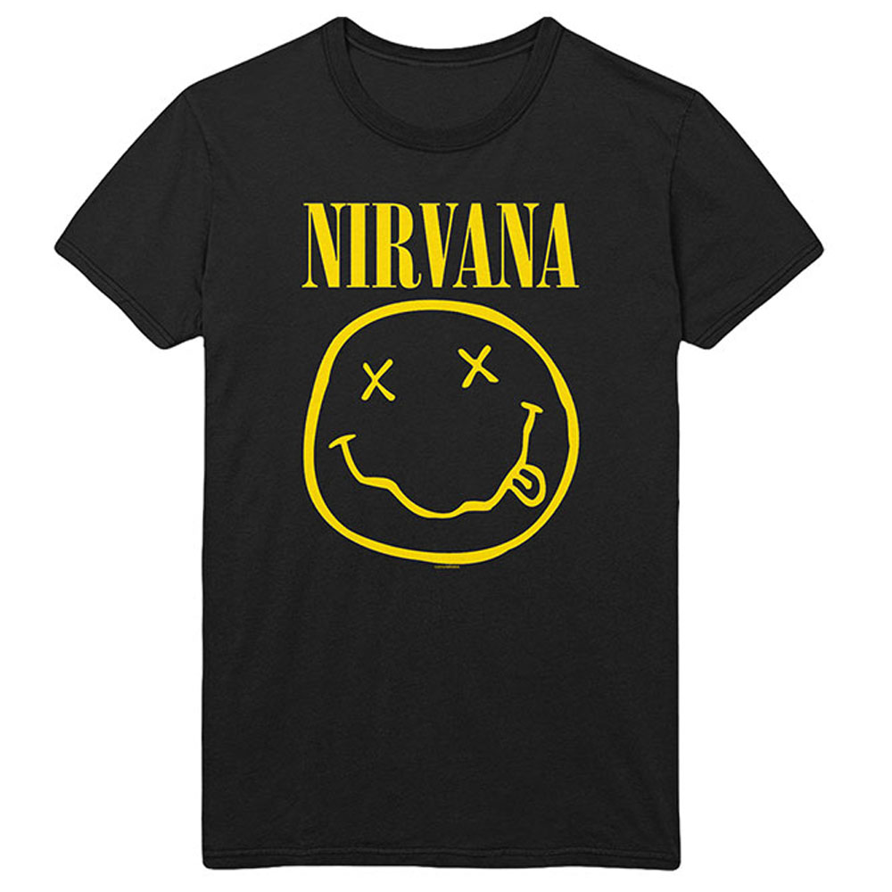 NIRVANA ニルヴァーナ - Flower Sniffin / バックプリントあり / Tシャツ / メンズ 【公式 / オフィシャル】