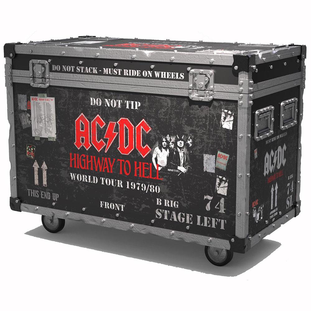 【予約商品】 【プレゼント付き】 AC/DC エーシーディーシー (初来日40周年 ) - Highway to Hell Road Case + Stage Backdrop / On Tour Series Collectible / 世界限定3000 / インテリア置物 【公式 / オフィシャル】