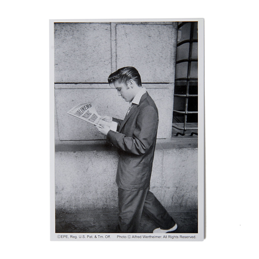 ELVIS PRESLEY エルヴィスプレスリー (RCAデビュー65周年記念 ) - 日本限定公式商品 ELVIS50s ポストカード10枚セット+封筒 B / ポストカード・レター 【公式 / オフィシャル】