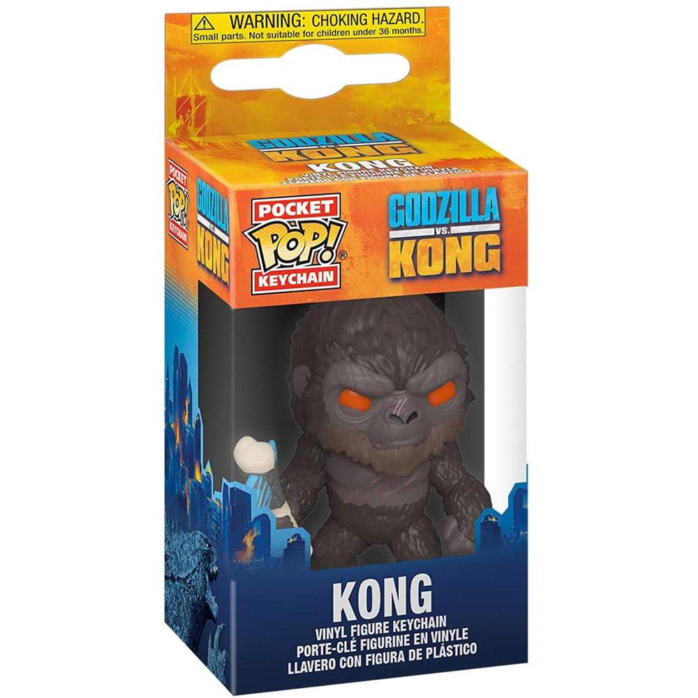 KING KONG ゴジラ (映画『ゴジラ対コング』公開記念 ) - Pocket Pop! Key Chain / キーホルダー 【公式 / オフィシャル】