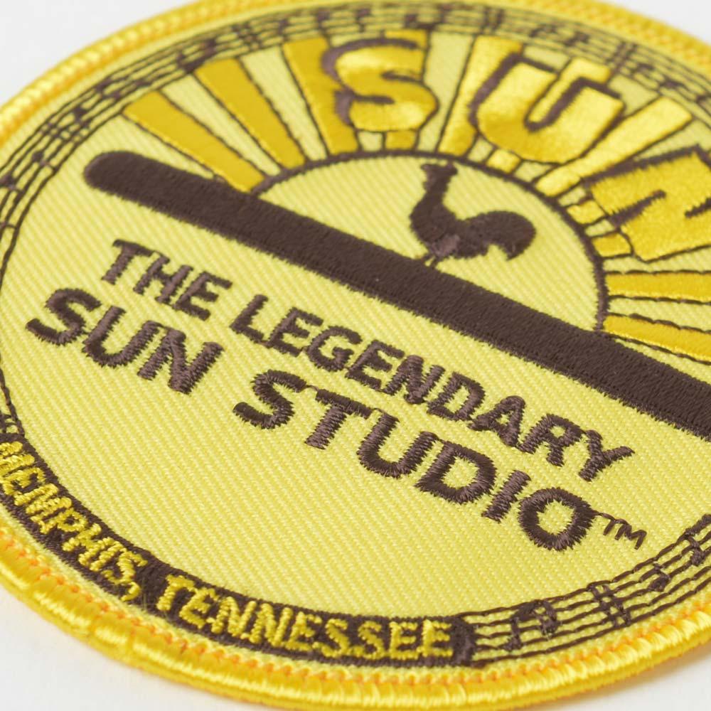 SUN STUDIO サンスタジオ - Rooster Logo / ワッペン 【公式 / オフィシャル】