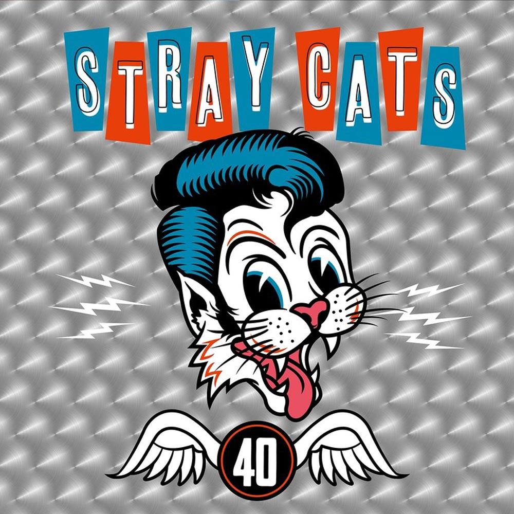 STRAY CATS ストレイキャッツ (初来日39周年 ) - 40 (初回限定盤)【CD+Tシャツ】 / CD・DVD・レコード