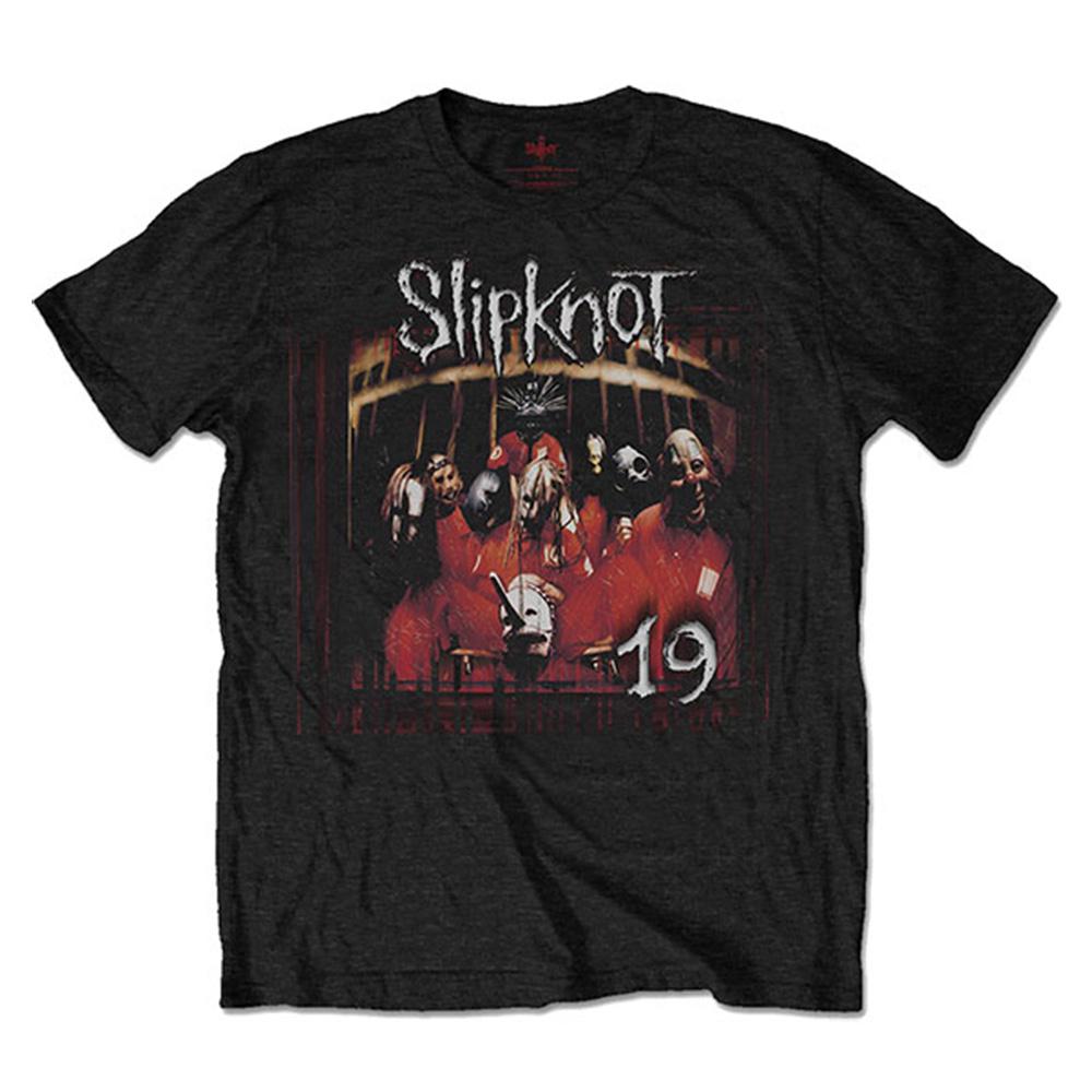 SLIPKNOT スリップノット (結成25周年記念 ) - Debut Album 19 Years / バックプリントあり / Tシャツ / メンズ 【公式 / オフィシャル】