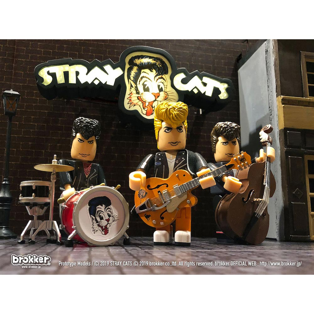 STRAY CATS ストレイキャッツ (初来日39周年 ) - brokker(ブランド) / フィギュア・人形 【公式 / オフィシャル】