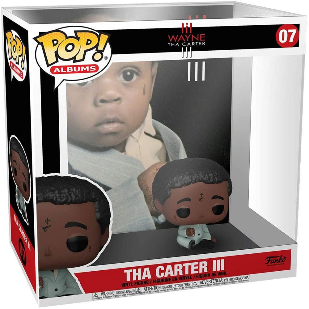 【予約商品】 LIL' WAYNE リルウェイン - POP Albums:Tha Carter III(ディスプレイハードケース付き) / フィギュア・人形 【公式 / オフィシャル】