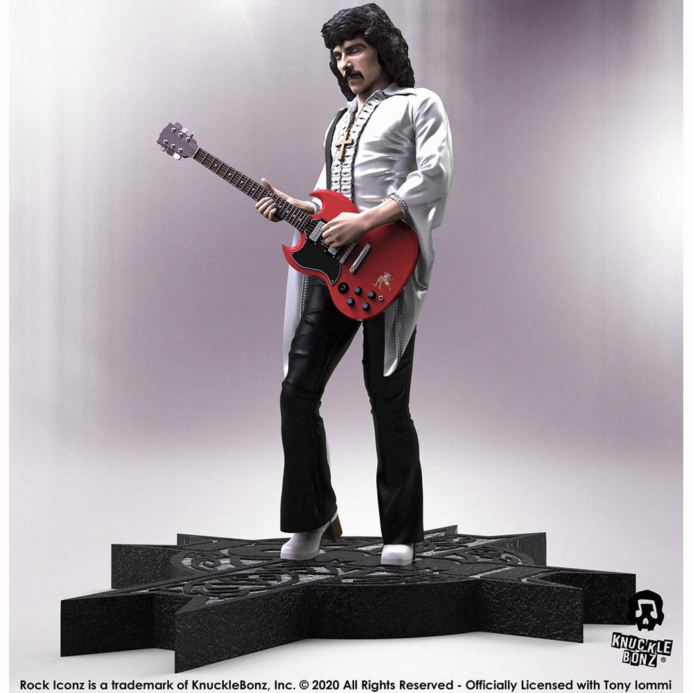 【予約商品】 【プレゼント付き】 BLACK SABBATH ブラックサバス - Tony Iommi Rock Iconz / 世界限定3000体 / フィギュア・人形 【公式 / オフィシャル】