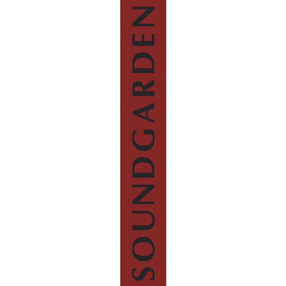SOUNDGARDEN サウンドガーデン - Logo ギターストラップ(レザー) / ギターストラップ 【公式 / オフィシャル】