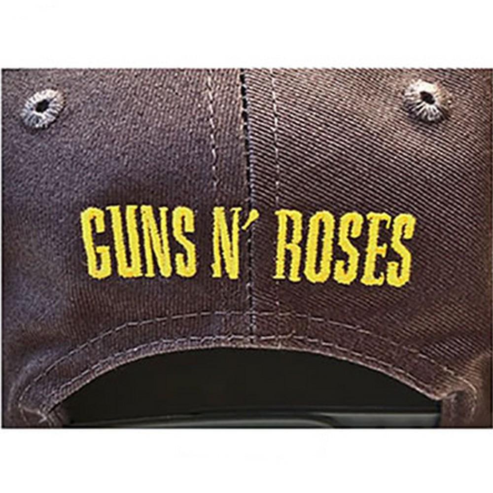 GUNS N ROSES ガンズアンドローゼズ (デビュー35周年記念 ) - Circle Logo / キャップ / メンズ 【公式 / オフィシャル】