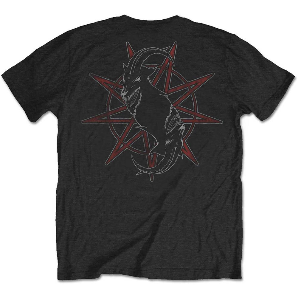 SLIPKNOT スリップノット (結成25周年記念 ) - Torn Apart / バックプリントあり / Tシャツ / メンズ 【公式 / オフィシャル】