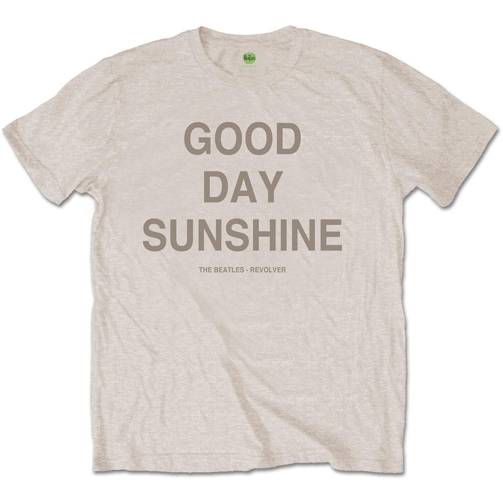 BEATLES ビートルズ (LET IT BE 50周年記念 ) - Good Day Sunshine / バックプリントあり / Tシャツ / メンズ 【公式 / オフィシャル】