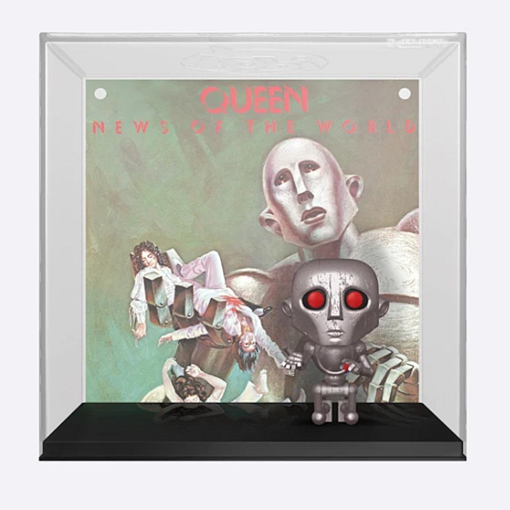 【予約商品】 【プレゼント付き】 QUEEN クイーン (結成50周年 ) - News of the World Pop! Album(ディスプレイハードケース付き) / フィギュア・人形 【公式 / オフィシャル】
