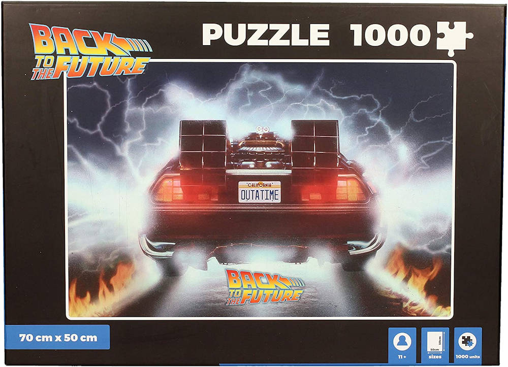 BACK TO THE FUTURE バックトゥザフューチャー (マイケルJフォックス生誕60周年 ) - Time Machine Outtatime 1,000 Piece / パズル 【公式 / オフィシャル】