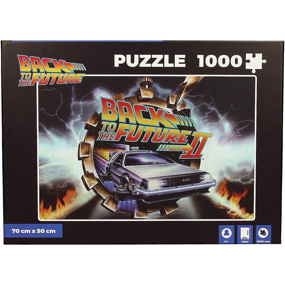 【予約商品】 BACK TO THE FUTURE バックトゥザフューチャー (マイケルJフォックス生誕60周年 ) - BTTF II 1,000 Piece / パズル 【公式 / オフィシャル】