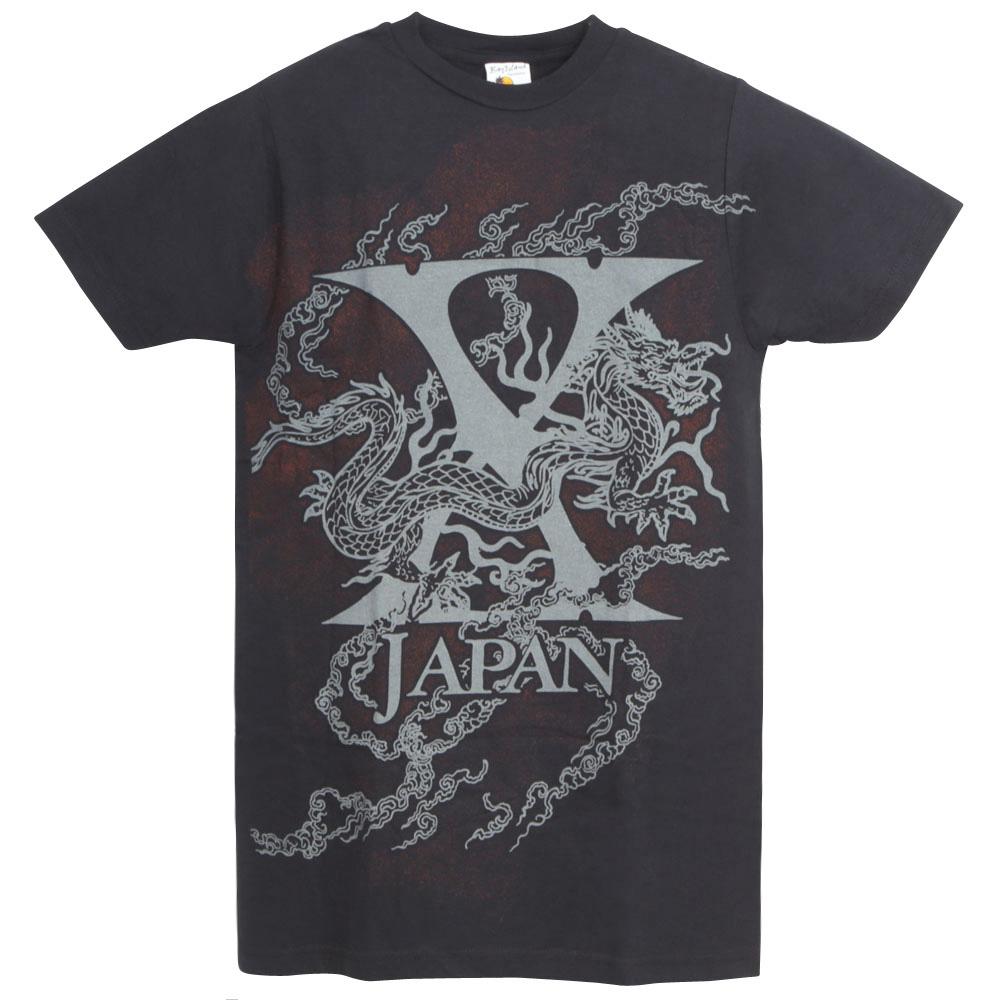 X JAPAN エックスジャパン - FULL DRAGON / Tシャツ / メンズ 【公式 / オフィシャル】