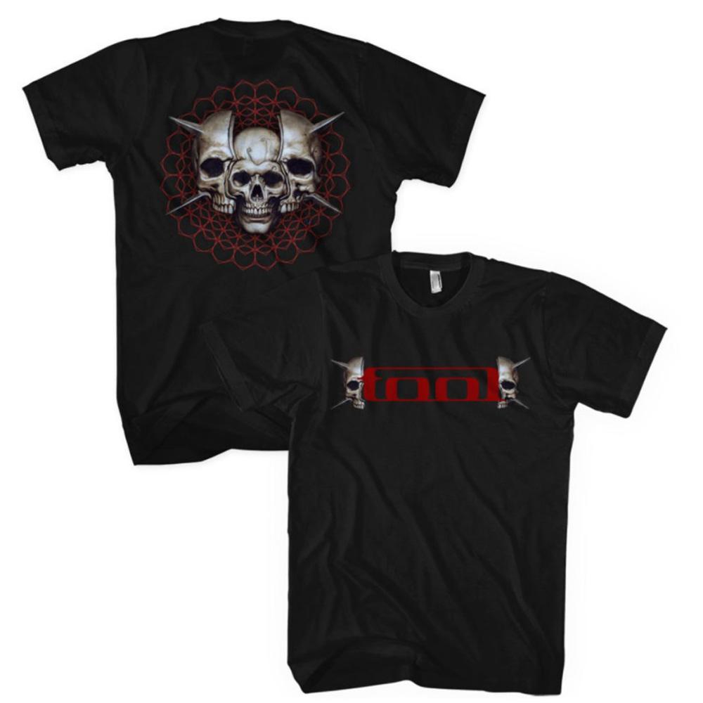 TOOL トゥール - Skull Spikes / バックプリントあり / Tシャツ / メンズ 【公式 / オフィシャル】