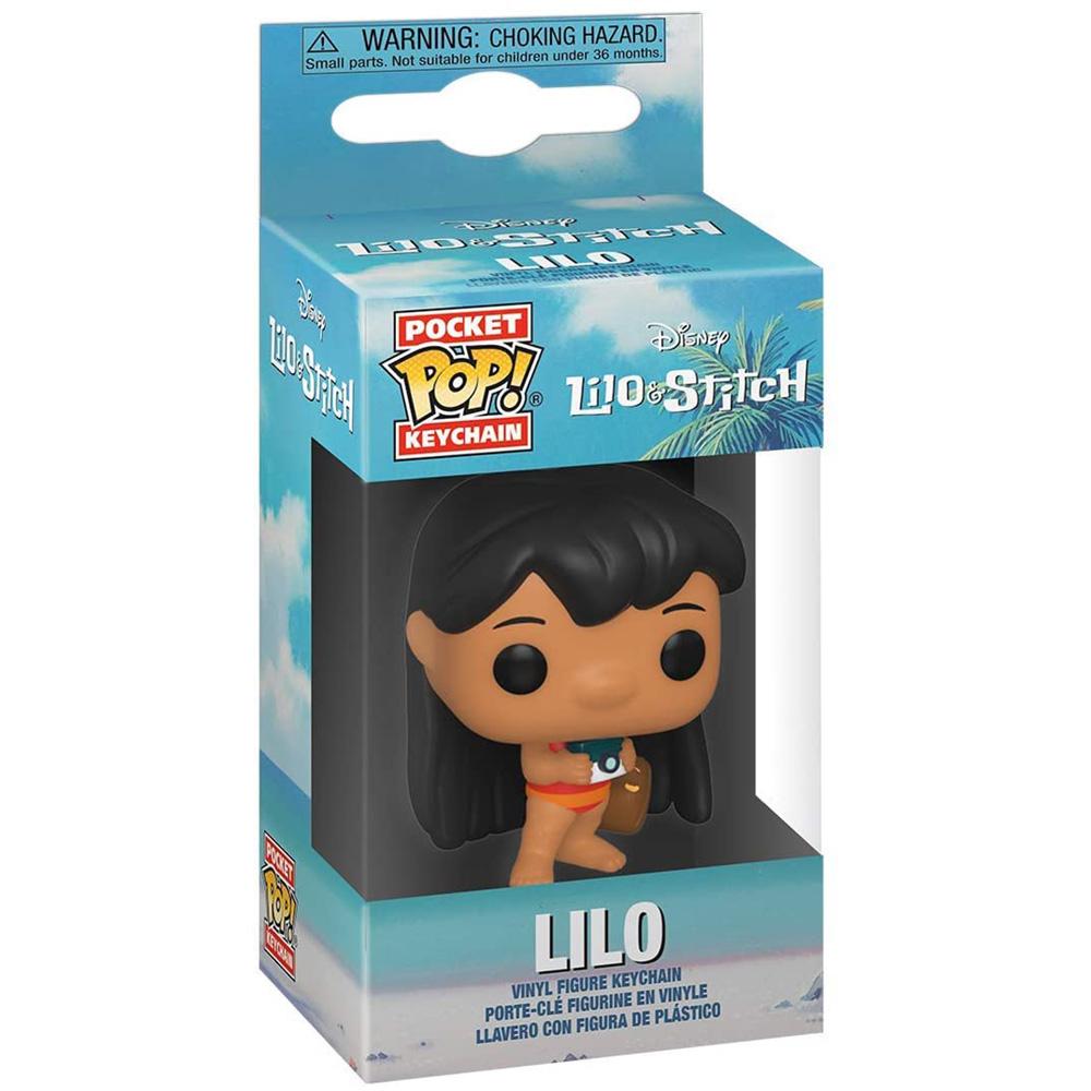 STITCH スティッチ - POP Keychain:LILO WITH CAMERA / キーホルダー 【公式 / オフィシャル】