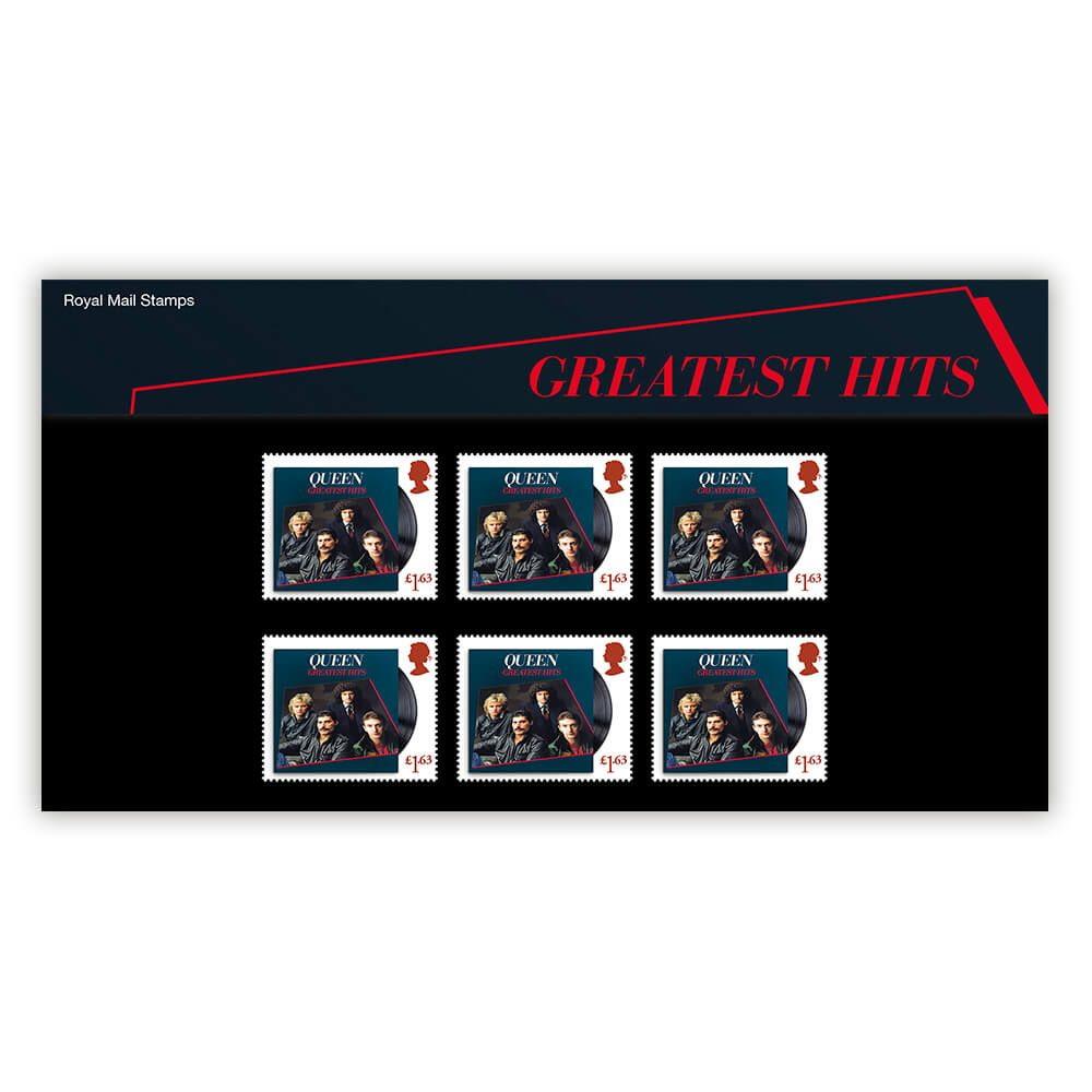 QUEEN クイーン (フレディ追悼30周年 ) - Greatest Hits Souvenir Pack / 切手シート / ポストカード・レター 【公式 / オフィシャル】