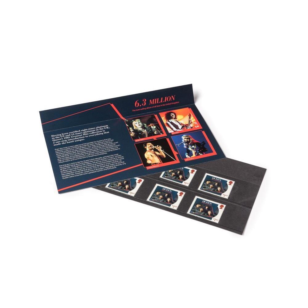 QUEEN クイーン (結成50周年 ) - Greatest Hits Souvenir Pack / 切手シート / ポストカード・レター 【公式 / オフィシャル】
