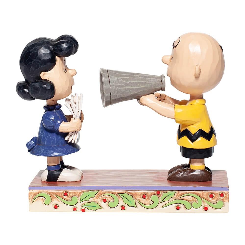 PEANUTS スヌーピー - チャーリーブラウン&ルーシー ディレクター / JIM SHORE / フィギュア・人形 【公式 / オフィシャル】
