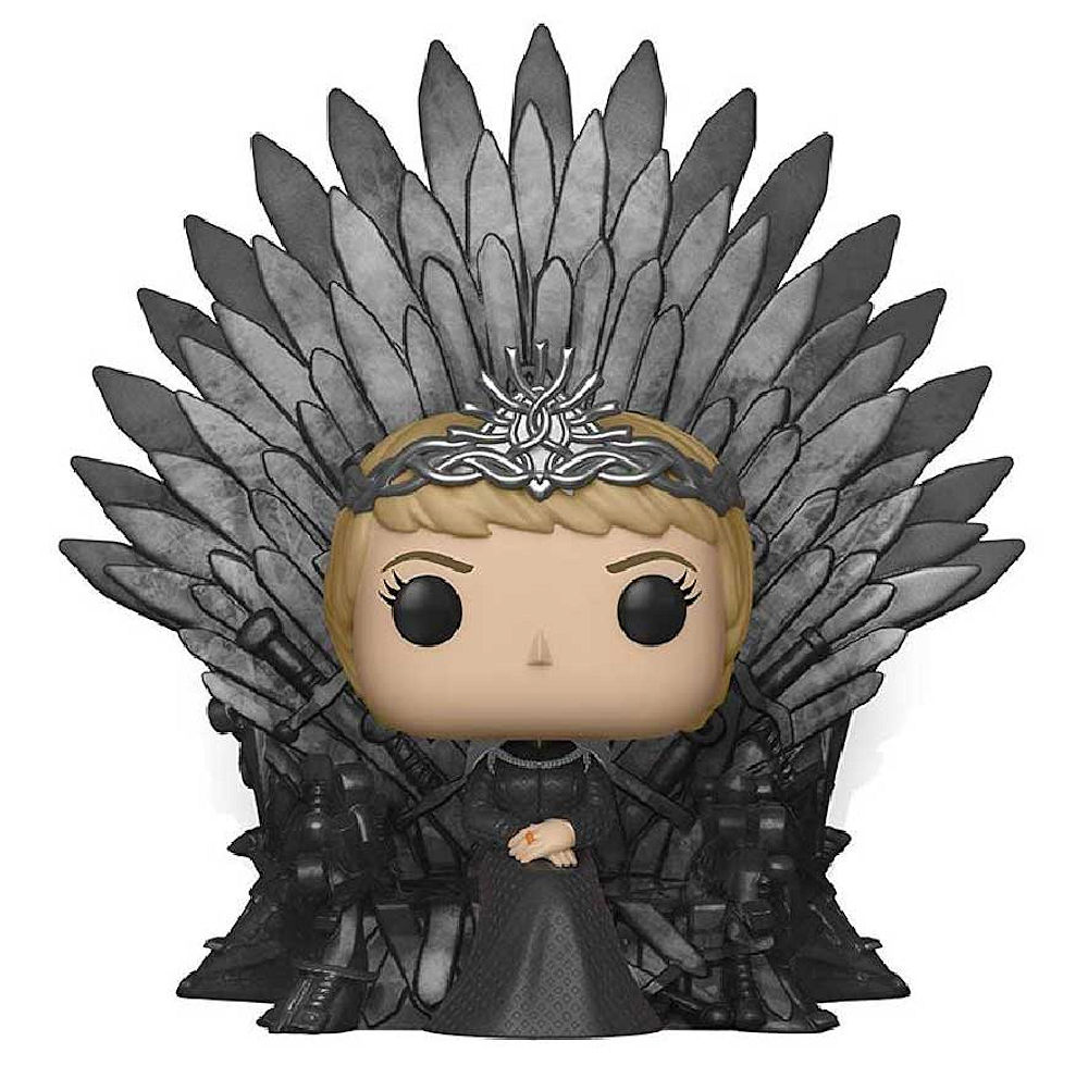 GAME OF THRONES ゲーム・オブ・スローンズ (10周年 ) - Cersei Lannister Sitting on / POP Deluxe / フィギュア・人形 【公式 / オフィシャル】