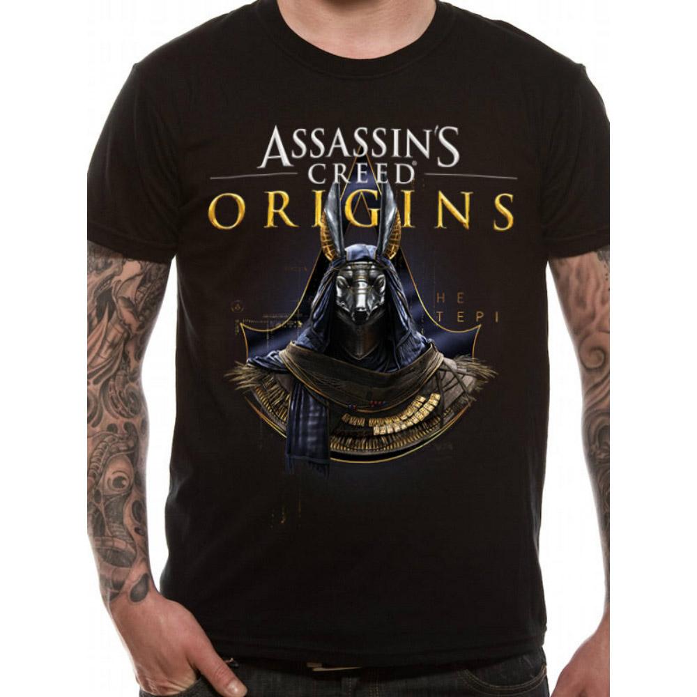 ASSASSINS CREED アサシンクリード (最新昨ヴァルハラ発売記念 ) - GOLD ANUBIS / Tシャツ / メンズ 【公式 / オフィシャル】