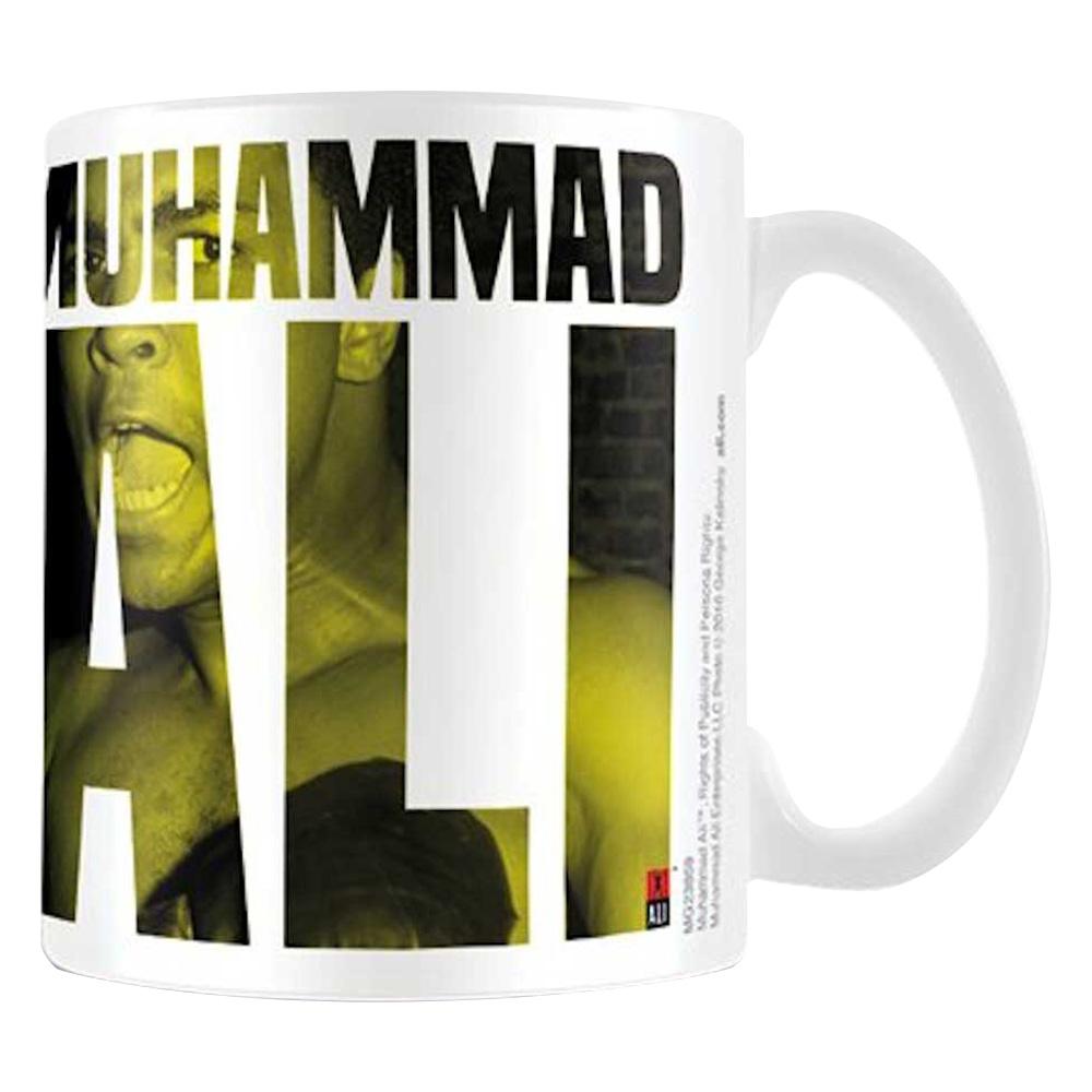 MUHAMMAD ALI モハメドアリ - TEXT / マグカップ 【公式 / オフィシャル】