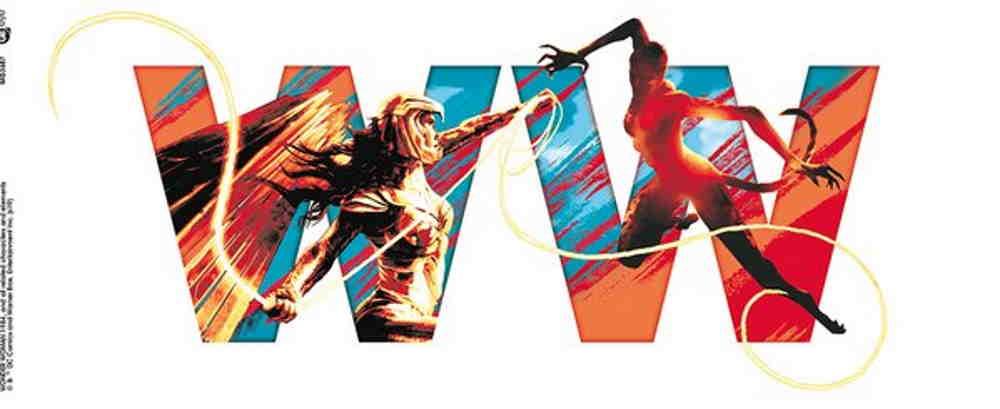 WONDER WOMAN ワンダーウーマン (映画『Wonder Woman1984』 ) - 1984 / Battle / マグカップ 【公式 / オフィシャル】