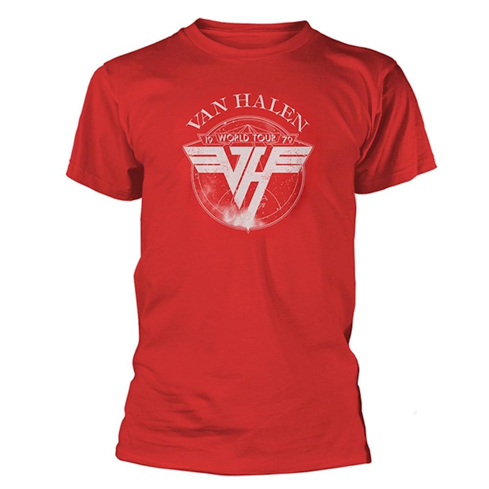 VAN HALEN ヴァンヘイレン - 1979 Tour / Tシャツ / メンズ 【公式 / オフィシャル】