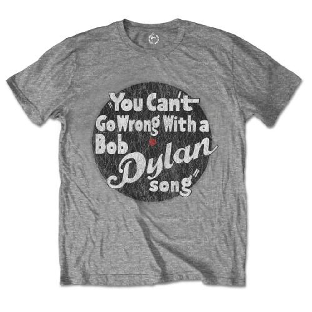 BOB DYLAN ボブディラン (生誕80周年 ) - YOU CAN'T GO WRONG / Tシャツ / メンズ 【公式 / オフィシャル】
