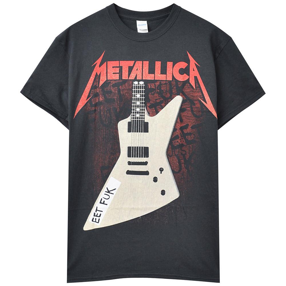 METALLICA メタリカ (結成40周年 ) - Eet Fuk / バックプリントあり / Tシャツ / メンズ 【公式 / オフィシャル】
