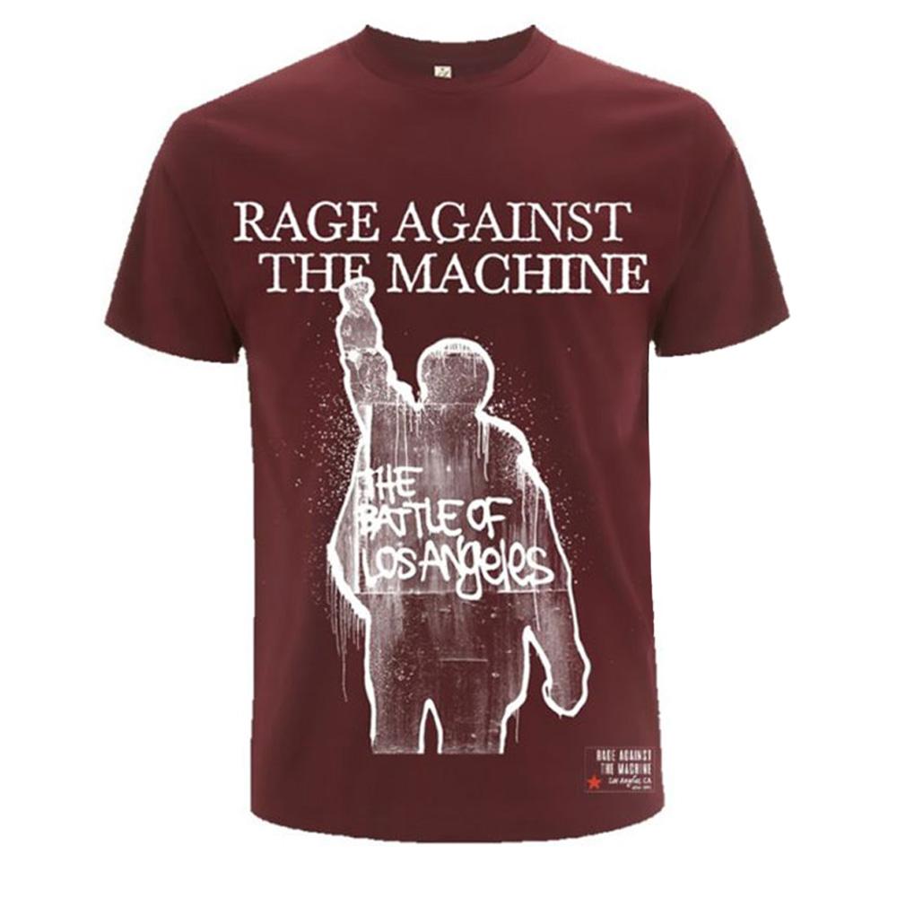 RAGE AGAINST THE MACHINE レイジアゲインストザマシーン (結成30周年 ) - BOLA Album Cover / バックプリントあり / Tシャツ / メンズ 【公式 / オフィシャル】