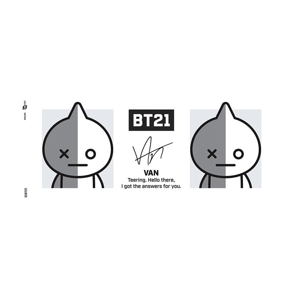BTS ビーティーエス - BT21 / Van / マグカップ 【公式 / オフィシャル】
