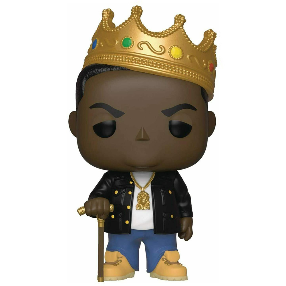 NOTORIOUS BIG ビギー - POP! Rocks : with Crown Collectible / フィギュア・人形 【公式 / オフィシャル】