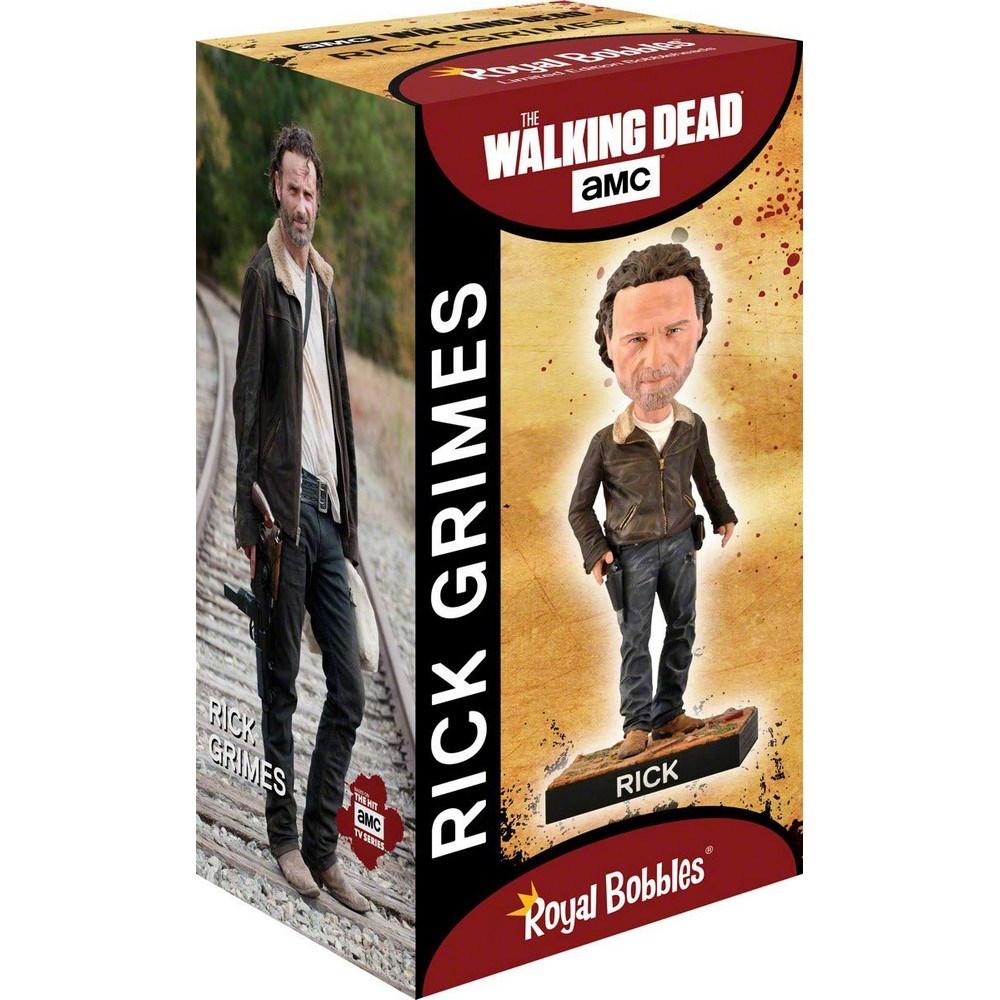 WALKING DEAD ウォーキングデッド (最終シーズン米8月放送 ) - Rick Grimes Collectible Bobblehead / フィギュア・人形 【公式 / オフィシャル】