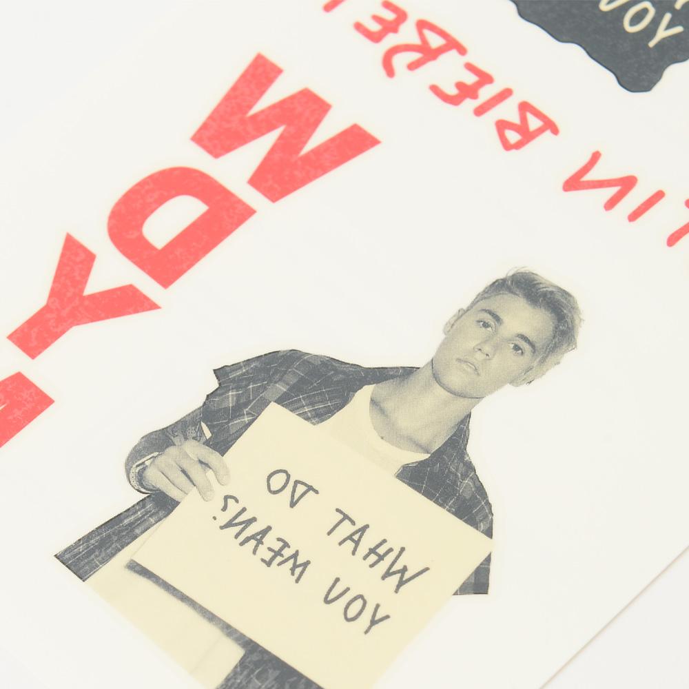 JUSTIN BIEBER ジャスティンビーバー - What Do You Mean 2シート・タトゥーパック / タトゥー・シール 【公式 / オフィシャル】