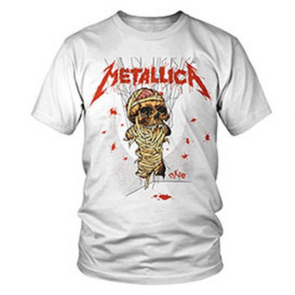 METALLICA メタリカ (結成40周年 ) - One Landmine / バックプリントあり / Tシャツ / メンズ 【公式 / オフィシャル】