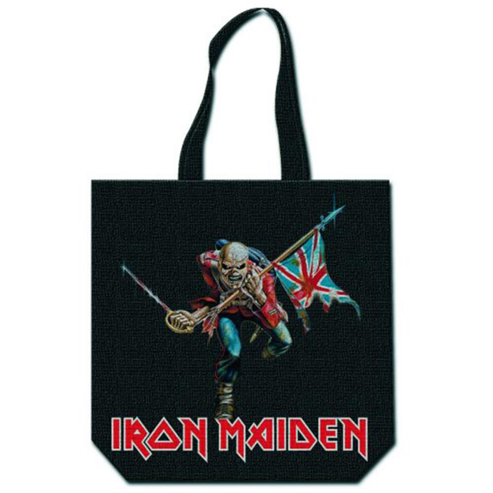 IRON MAIDEN アイアンメイデン - Trooper / トートバッグ 【公式 / オフィシャル】
