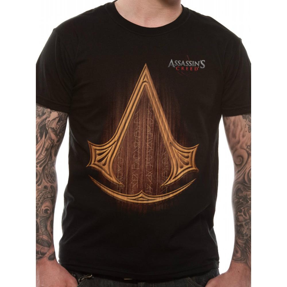 ASSASSINS CREED アサシンクリード (ヴァルハラ ) - ICON LOGO / Tシャツ / メンズ 【公式 / オフィシャル】