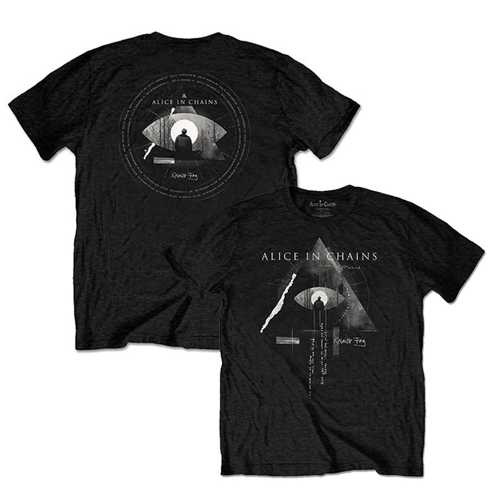 ALICE IN CHAINS アリス・イン・チェインズ (デビュー30周年記念 ) - Fog Mountain / バックプリントあり / Tシャツ / メンズ 【公式 / オフィシャル】