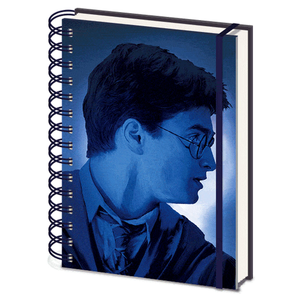 HARRY POTTER ハリーポッター (映画公開20周年 ) - Magic Portrait / 3Dカバー / ノート 【公式 / オフィシャル】