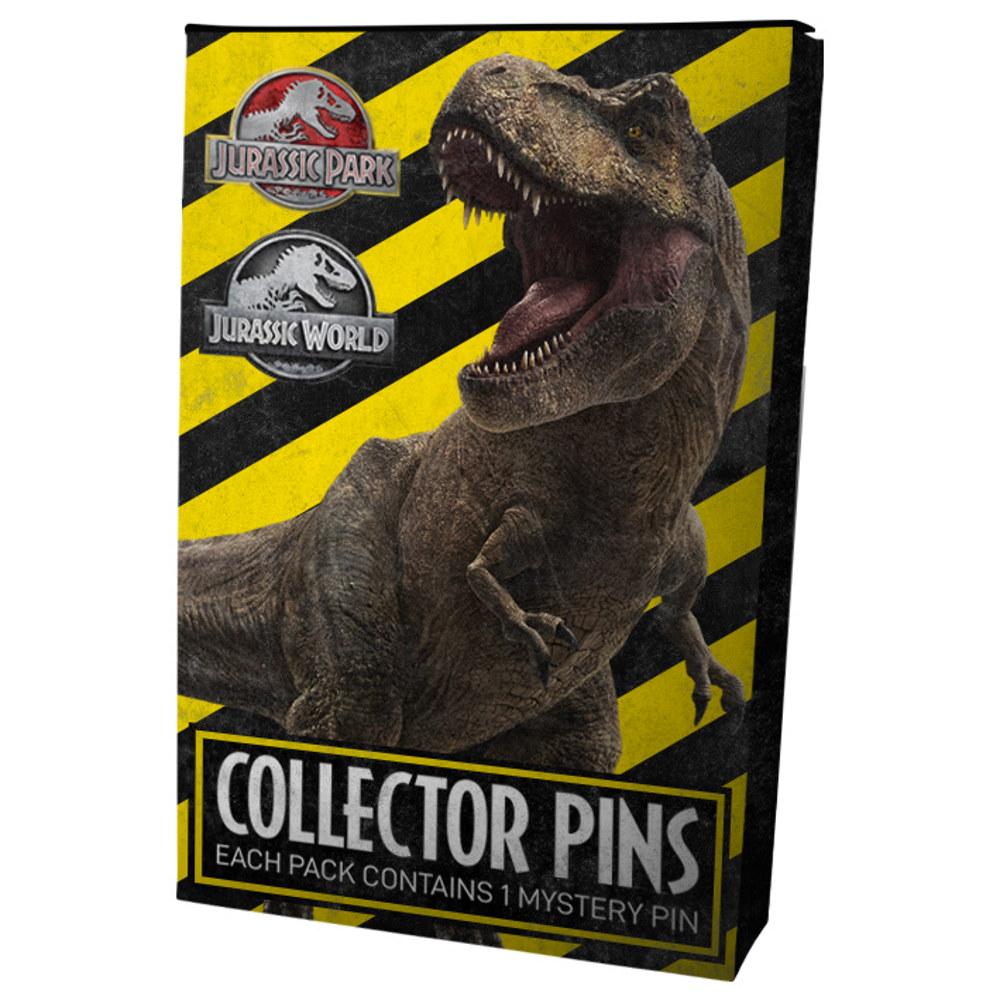 JURASSIC PARK ジュラシックパーク (出版30周年記念 ) - Mystery Pin Badges / バッジ 【公式 / オフィシャル】