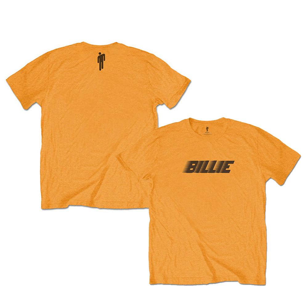 BILLIE EILISH ビリーアイリッシュ (デビュー5周年 ) - Racer Logo & Blohsh / バックプリントあり / Tシャツ / キッズ 【公式 / オフィシャル】