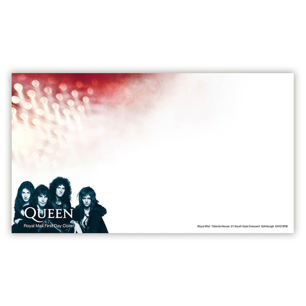 QUEEN クイーン (フレディ追悼30周年 ) - First Day Envelope / 封筒 / ポストカード・レター 【公式 / オフィシャル】