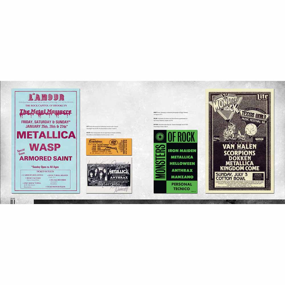 METALLICA メタリカ (結成40周年 ) - METALLICA / 雑誌・書籍
