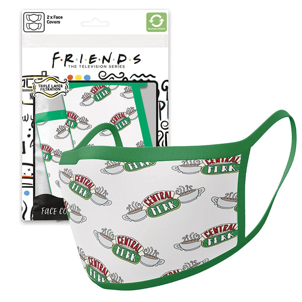 FRIENDS フレンズ - Central Perk 2枚セット / ファッション・マスク 【公式 / オフィシャル】
