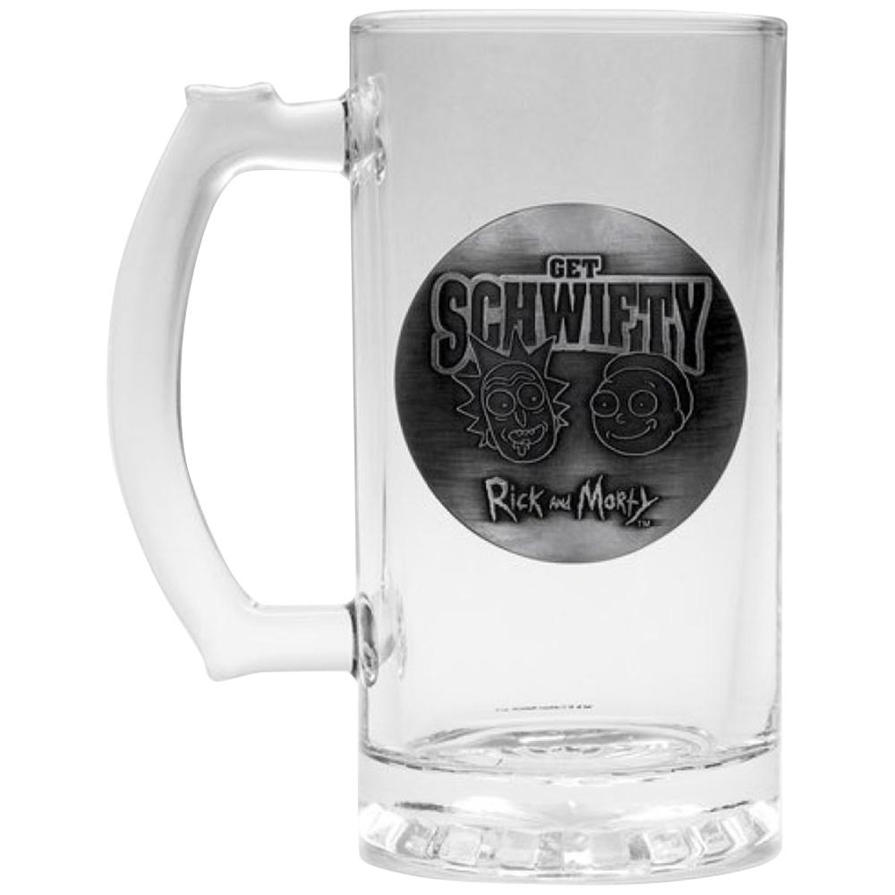 RICK AND MORTY リックアンドモーティ - Get Schwifty ビールジョッキ / 食器・グラス 【公式 / オフィシャル】