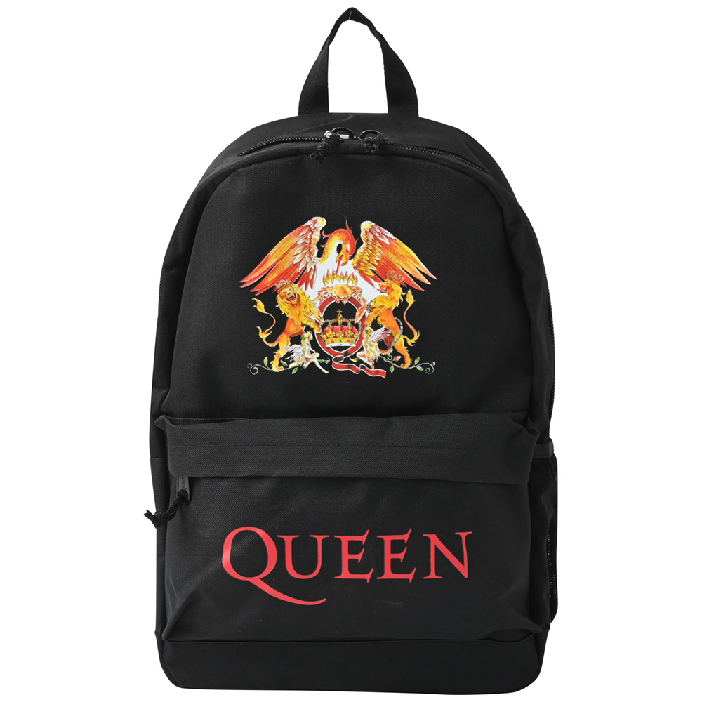 QUEEN クイーン (結成50周年 ) - CLASSIC CREST / バックパック / バッグ 【公式 / オフィシャル】