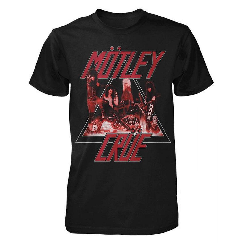 MOTLEY CRUE モトリークルー (結成40周年 ) - Too Fast Cycle / Tシャツ / メンズ 【公式 / オフィシャル】