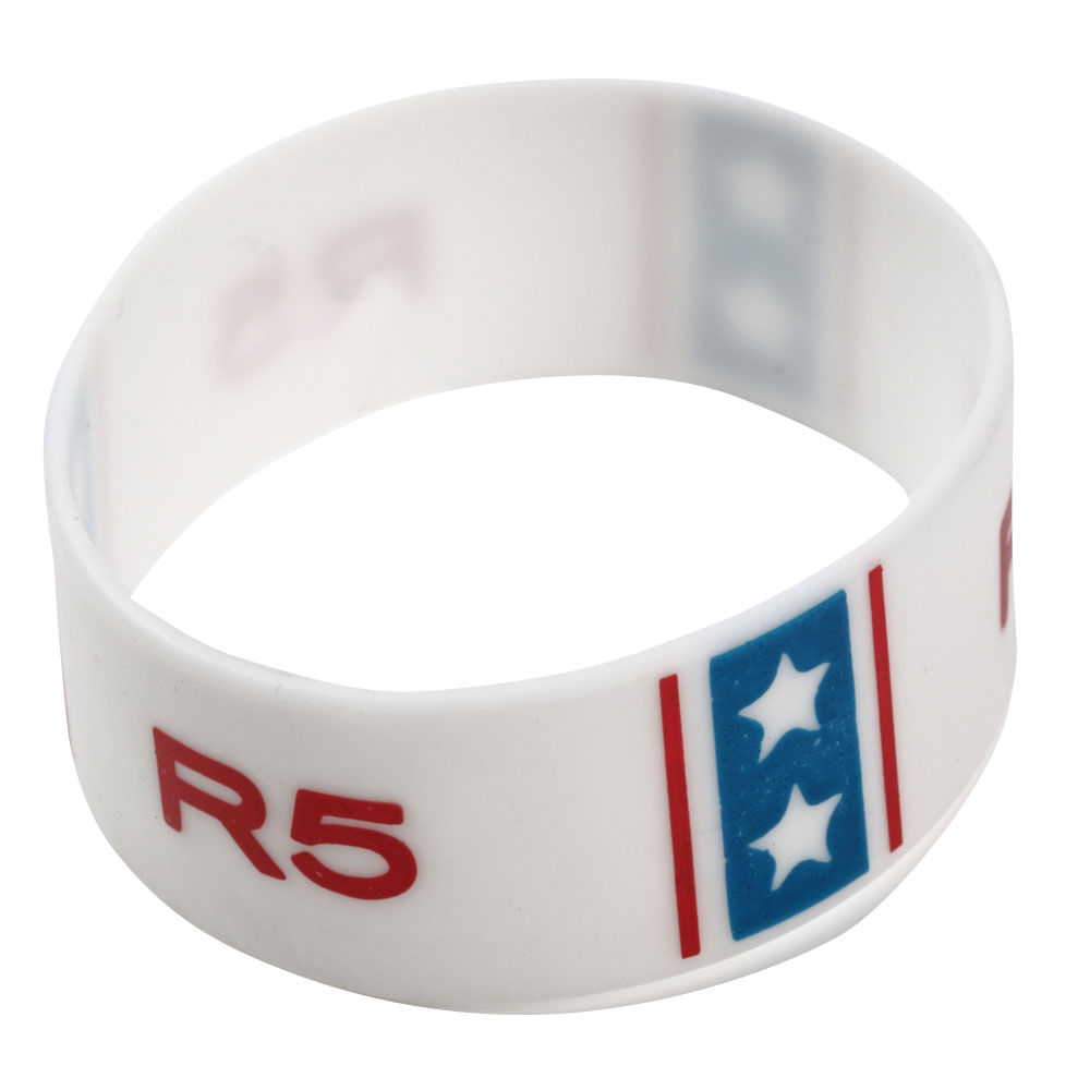 R5 アールファイブ - Flag Gummy Bracelet / リストバンド 【公式 / オフィシャル】